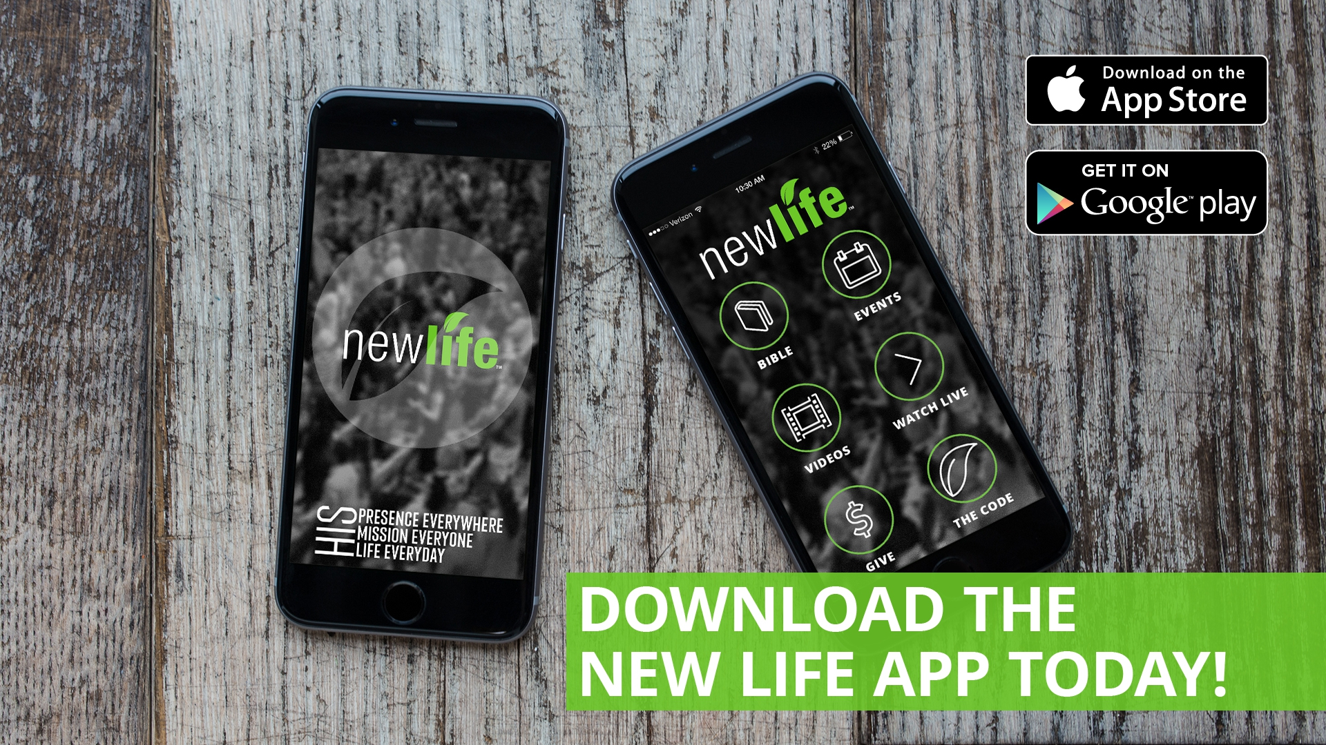 New Life App Download - Jacksonville Church