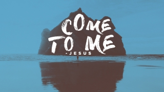 Come to Me - Slide Background with Text